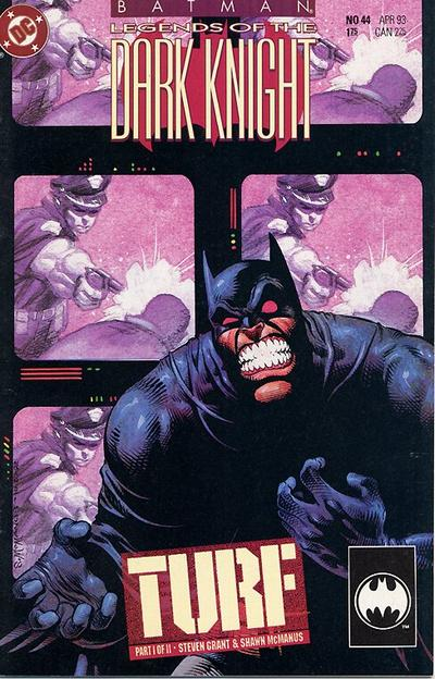 Cover for Batman: Legends of the Dark Knight (DC, 1992 series) #44