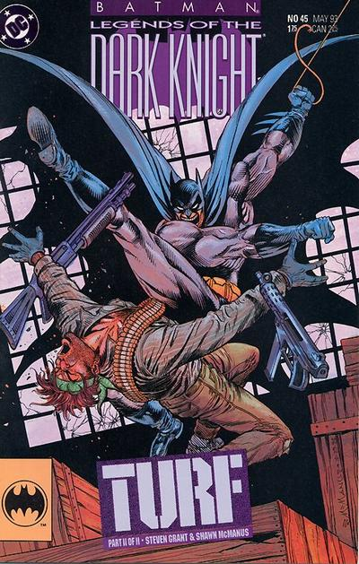 Cover for Batman: Legends of the Dark Knight (DC, 1992 series) #45