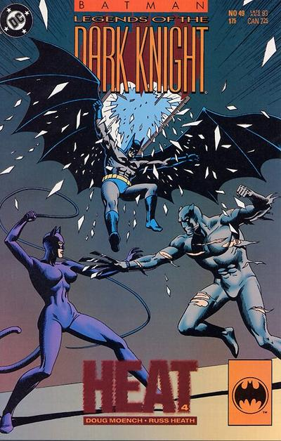 Cover for Batman: Legends of the Dark Knight (DC, 1992 series) #49