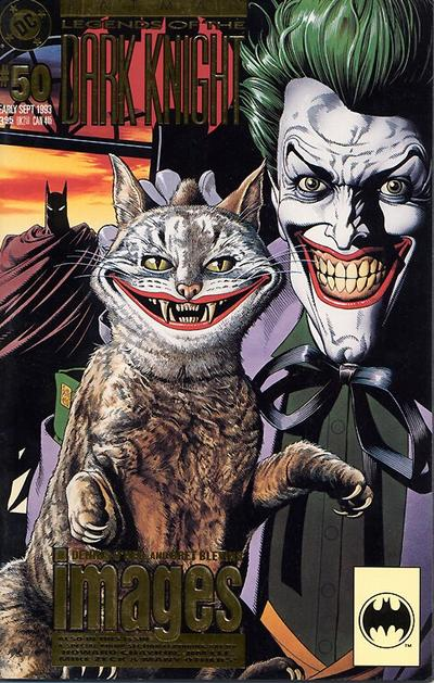 Cover for Batman: Legends of the Dark Knight (DC, 1992 series) #50