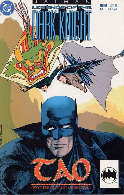 Cover for Batman: Legends of the Dark Knight (DC, 1992 series) #52