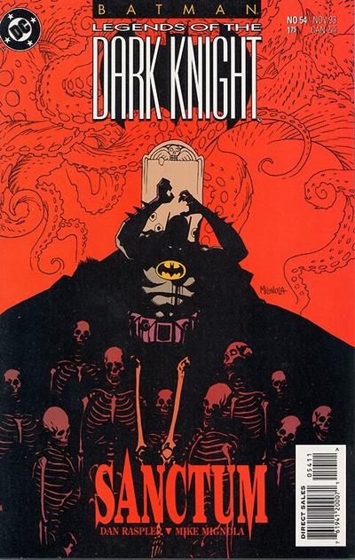 Cover for Batman: Legends of the Dark Knight (DC, 1992 series) #54