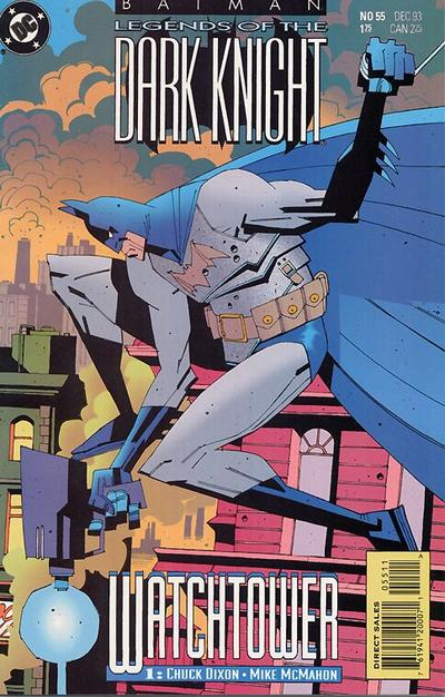 Cover for Batman: Legends of the Dark Knight (DC, 1992 series) #55