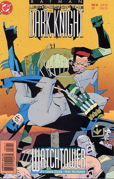 Cover for Batman: Legends of the Dark Knight (DC, 1992 series) #56