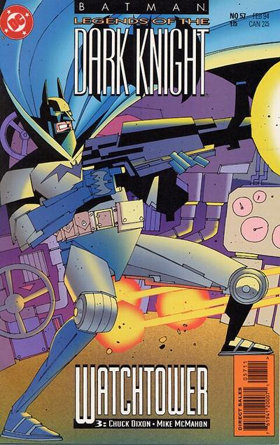 Cover for Batman: Legends of the Dark Knight (DC, 1992 series) #57