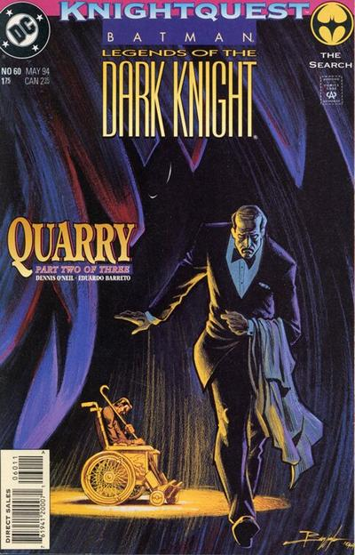 Cover for Batman: Legends of the Dark Knight (DC, 1992 series) #60