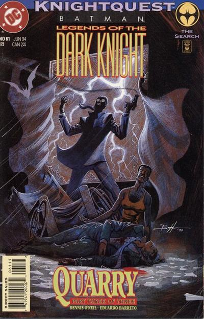 Cover for Batman: Legends of the Dark Knight (DC, 1992 series) #61