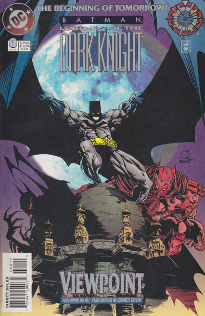 Cover for Batman: Legends of the Dark Knight (DC, 1992 series) #0