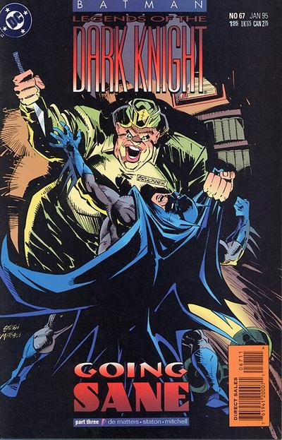 Cover for Batman: Legends of the Dark Knight (DC, 1992 series) #67