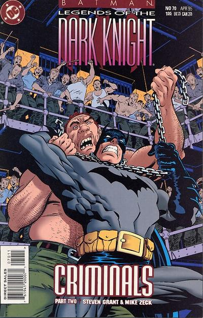 Cover for Batman: Legends of the Dark Knight (DC, 1992 series) #70