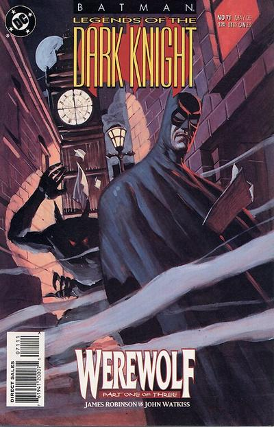 Cover for Batman: Legends of the Dark Knight (DC, 1992 series) #71
