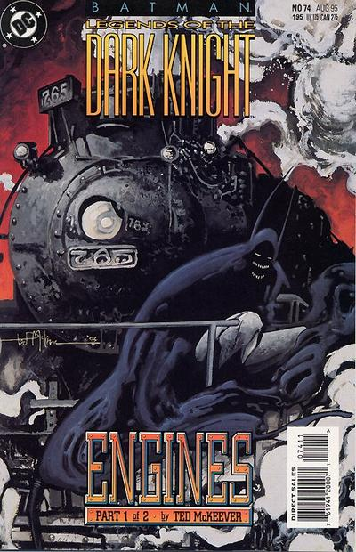 Cover for Batman: Legends of the Dark Knight (DC, 1992 series) #74