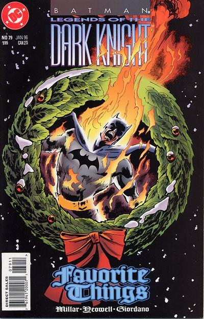 Cover for Batman: Legends of the Dark Knight (DC, 1992 series) #79