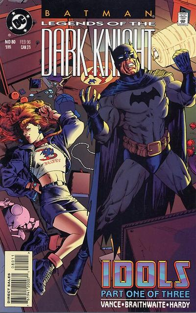 Cover for Batman: Legends of the Dark Knight (DC, 1992 series) #80