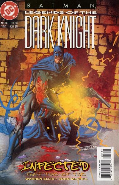 Cover for Batman: Legends of the Dark Knight (DC, 1992 series) #84