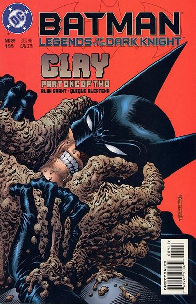 Cover for Batman: Legends of the Dark Knight (DC, 1992 series) #89