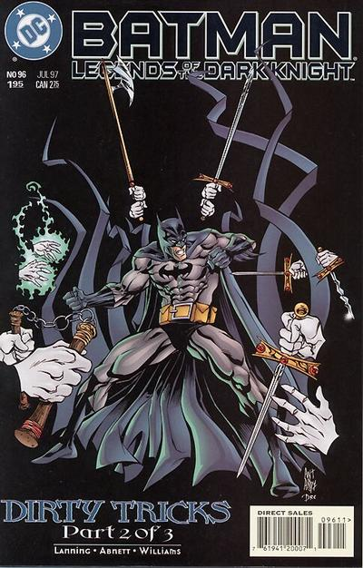 Cover for Batman: Legends of the Dark Knight (DC, 1992 series) #96