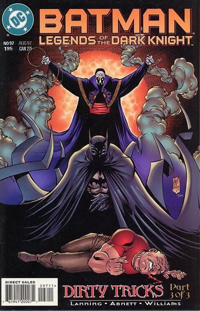 Cover for Batman: Legends of the Dark Knight (DC, 1992 series) #97