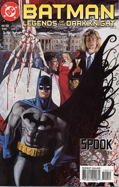 Cover for Batman: Legends of the Dark Knight (DC, 1992 series) #102