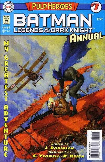 Cover for Batman: Legends of the Dark Knight Annual (DC, 1993 series) #7