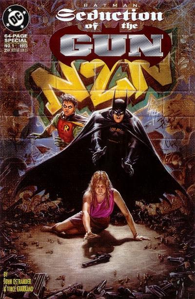 Cover for Batman: Seduction of the Gun (DC, 1993 series) #1