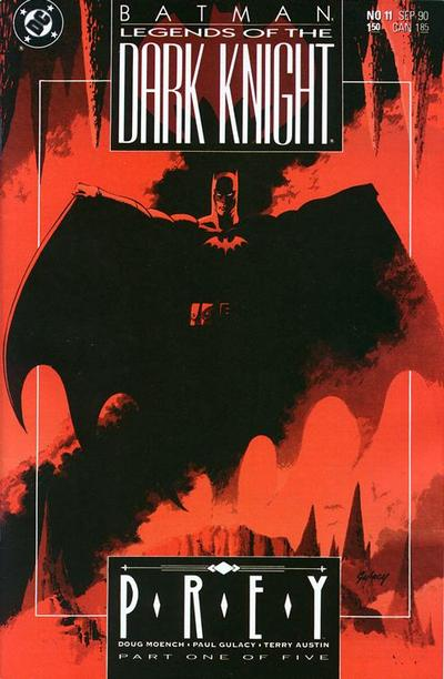 Cover for Legends of the Dark Knight (DC, 1989 series) #11