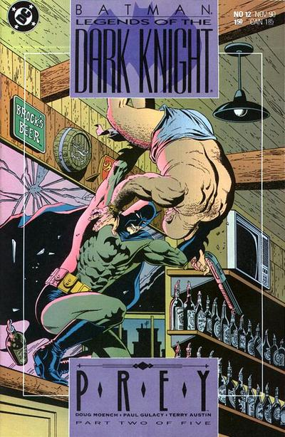 Cover for Legends of the Dark Knight (DC, 1989 series) #12
