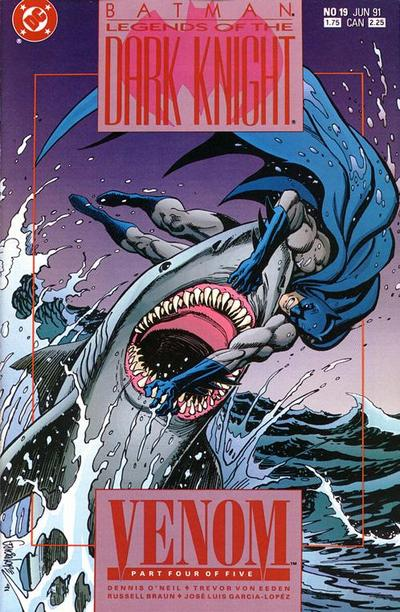 Cover for Legends of the Dark Knight (DC, 1989 series) #19