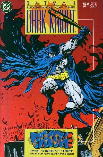 Cover for Legends of the Dark Knight (DC, 1989 series) #23