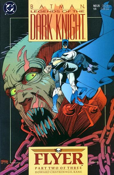 Cover for Legends of the Dark Knight (DC, 1989 series) #25