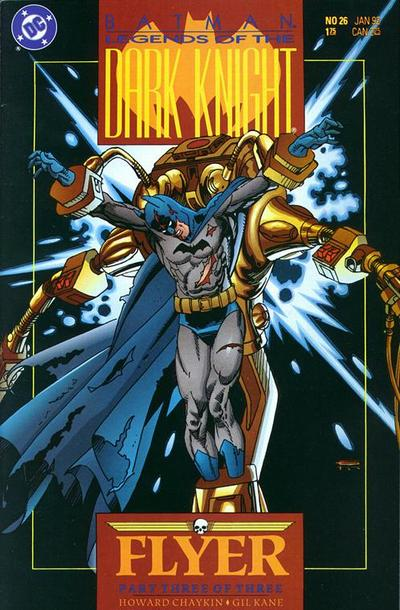 Cover for Legends of the Dark Knight (DC, 1989 series) #26