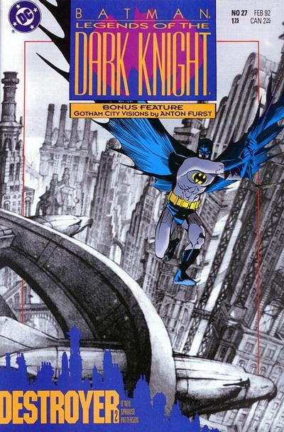 Cover for Legends of the Dark Knight (DC, 1989 series) #27