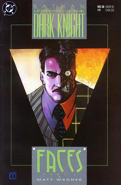 Cover for Legends of the Dark Knight (DC, 1989 series) #28