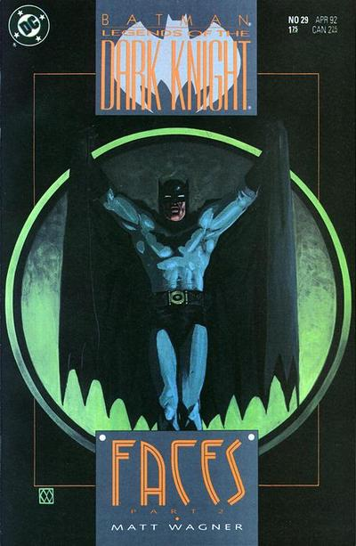 Cover for Legends of the Dark Knight (DC, 1989 series) #29