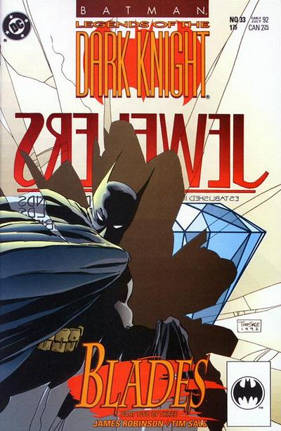 Cover for Legends of the Dark Knight (DC, 1989 series) #33