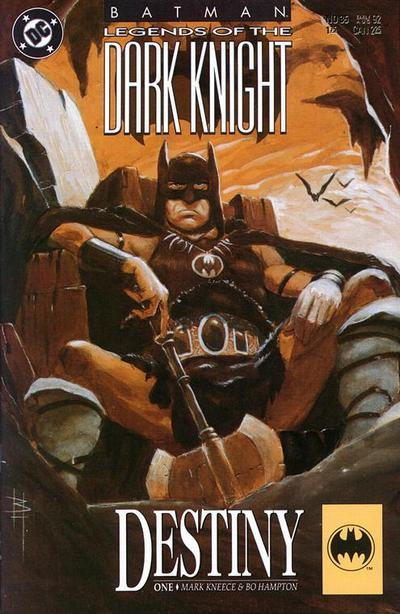 Cover for Legends of the Dark Knight (DC, 1989 series) #35