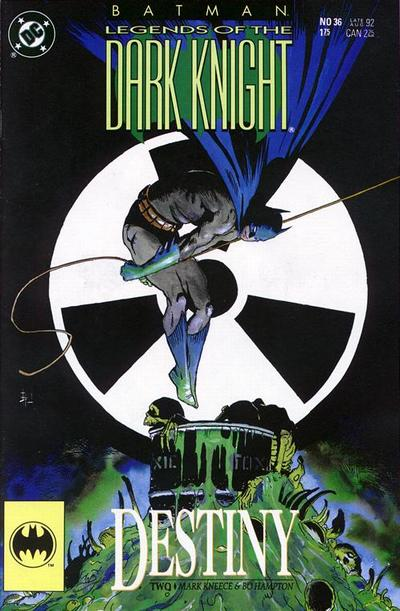 Cover for Legends of the Dark Knight (DC, 1989 series) #36
