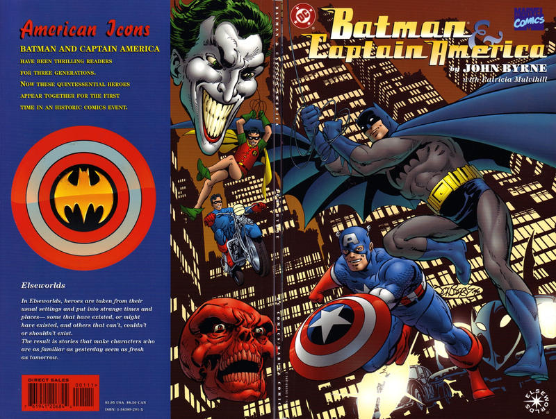 Cover for Batman / Captain America (DC, 1996 series) #[nn]