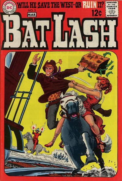 Cover for Bat Lash (DC, 1968 series) #3