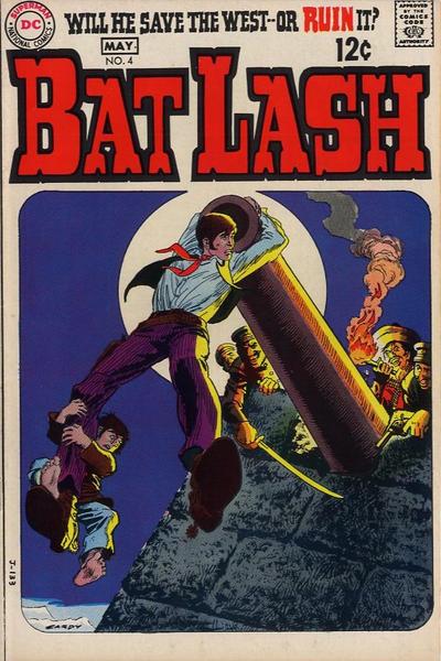 Cover for Bat Lash (DC, 1968 series) #4