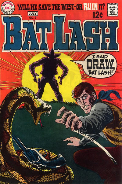 Cover for Bat Lash (DC, 1968 series) #5