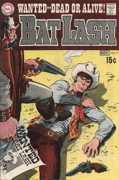 Cover for Bat Lash (DC, 1968 series) #7