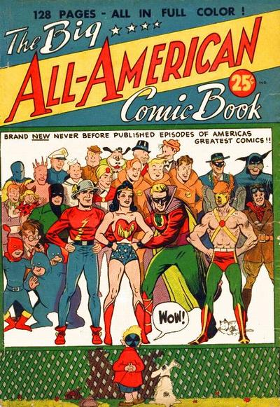 Cover for The Big All-American Comic Book (DC, 1944 series)