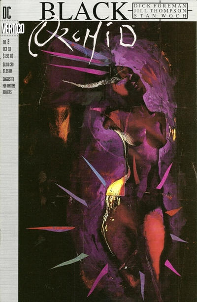 Cover for Black Orchid (DC, 1993 series) #2