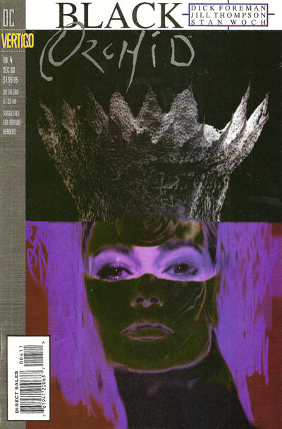 Cover for Black Orchid (DC, 1993 series) #4