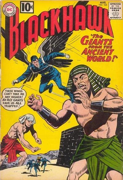 Cover for Blackhawk (DC, 1957 series) #163
