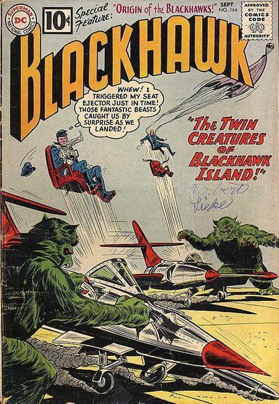Cover for Blackhawk (DC, 1957 series) #164