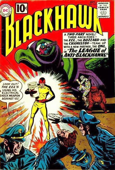 Cover for Blackhawk (DC, 1957 series) #165