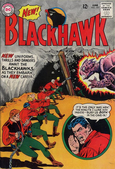 Cover for Blackhawk (DC, 1957 series) #197
