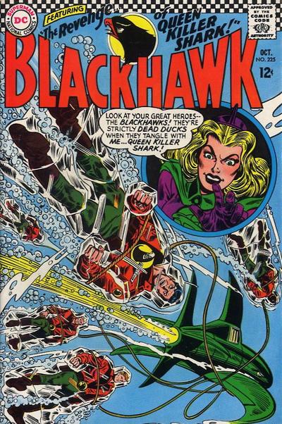 Cover for Blackhawk (DC, 1957 series) #225